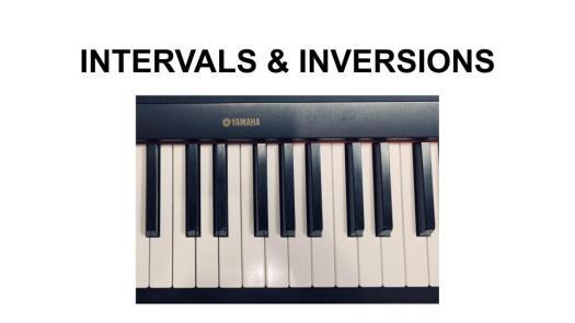 Intervals - Inversions 1