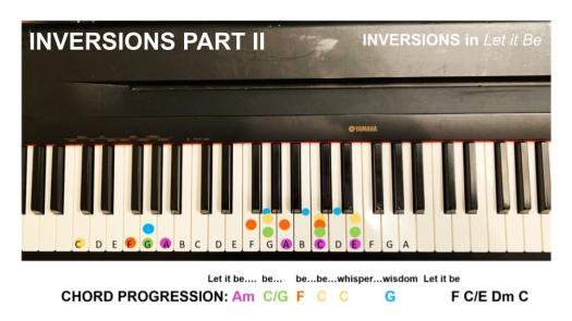 Inversions in Let It Be 1