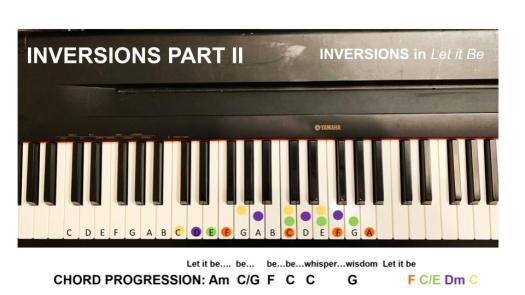 Inversions in Let It Be 2